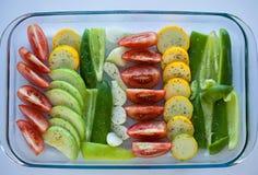 Λαχανικά συλλογής που απομονώνονται σε ένα άσπρο υπόβαθρο Στοκ Εικόνες