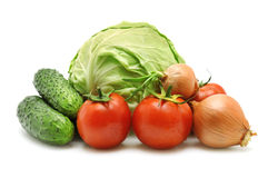 Λαχανικά συλλογής Στοκ φωτογραφία με δικαίωμα ελεύθερης χρήσης