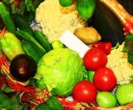 λαχανικά σωρών Στοκ φωτογραφίες με δικαίωμα ελεύθερης χρήσης