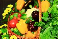 λαχανικά σωρών Στοκ εικόνα με δικαίωμα ελεύθερης χρήσης