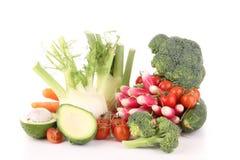 λαχανικά σωρών Στοκ εικόνες με δικαίωμα ελεύθερης χρήσης