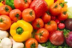 λαχανικά υγρά Στοκ Εικόνες