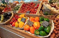 λαχανικά υπεραγορών παντ&om Στοκ φωτογραφία με δικαίωμα ελεύθερης χρήσης