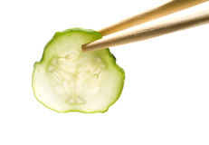 λαχανικά φετών σιτηρεσίο&ups Στοκ Εικόνα
