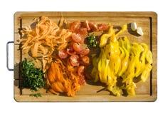 λαχανικά φετών στοκ φωτογραφία με δικαίωμα ελεύθερης χρήσης