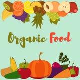 Λαχανικά φρούτων Στοκ εικόνες με δικαίωμα ελεύθερης χρήσης