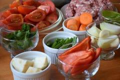 Λαχανικά Colorfull Στοκ Εικόνες