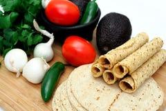 λαχανικά taquitos Στοκ Φωτογραφίες
