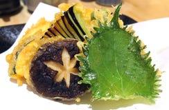 Λαχανικά Tempura στοκ εικόνες