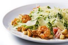 Λαχανικό και γαρίδες σαλάτας Στοκ Εικόνες