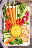 Λαχανικό και εμβυθίσεις Στοκ εικόνες με δικαίωμα ελεύθερης χρήσης