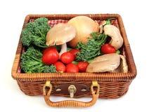 λαχανικό καλαθιών Στοκ Φωτογραφία