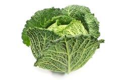 Λαχανικό κατσαρού λάχανου λάχανων κραμπολάχανου που απομονώνεται στο λευκό στοκ φωτογραφία με δικαίωμα ελεύθερης χρήσης