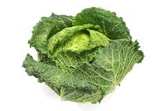 Λαχανικό κατσαρού λάχανου λάχανων κραμπολάχανου που απομονώνεται στο λευκό στοκ εικόνες