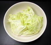 Λαχανικό μαρουλιού στο κύπελλο Στοκ Εικόνα