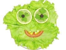 λαχανικό μορφής μαρουλι&om Στοκ φωτογραφία με δικαίωμα ελεύθερης χρήσης