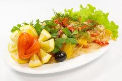 λαχανικό πιάτων λιχουδιών στοκ εικόνες με δικαίωμα ελεύθερης χρήσης