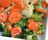 λαχανικό πιάτων Στοκ Φωτογραφία