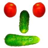 λαχανικό προσώπου Στοκ Εικόνες