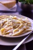 λαχανικό σάλτσας ζυμαρι&ka στοκ φωτογραφία