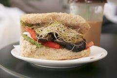λαχανικό σάντουιτς Στοκ Εικόνα