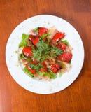 λαχανικό σαλάτας μπέϊκον στοκ εικόνες