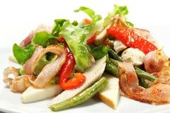 λαχανικό σαλάτας τυριών φασολιών Στοκ εικόνες με δικαίωμα ελεύθερης χρήσης
