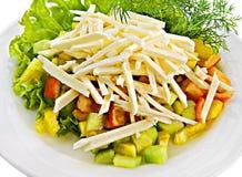 λαχανικό σαλάτας τυριών Στοκ Φωτογραφία