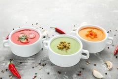 λαχανικό σούπας κρέμας Στοκ Φωτογραφία