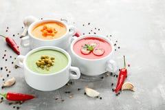 λαχανικό σούπας κρέμας Στοκ φωτογραφία με δικαίωμα ελεύθερης χρήσης
