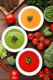 λαχανικό σούπας κρέμας Στοκ εικόνα με δικαίωμα ελεύθερης χρήσης
