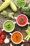 λαχανικό σούπας κρέμας Στοκ φωτογραφίες με δικαίωμα ελεύθερης χρήσης
