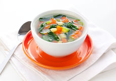 λαχανικό σούπας Στοκ Φωτογραφία