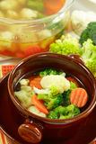 λαχανικό σούπας Στοκ φωτογραφία με δικαίωμα ελεύθερης χρήσης