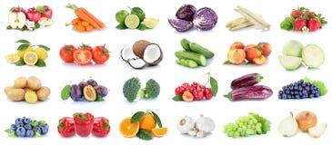 Λαχανικό σταφυλιών πορτοκαλιών μήλων συλλογής φρούτων και λαχανικών Στοκ εικόνα με δικαίωμα ελεύθερης χρήσης