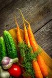 Λαχανικό στον ξύλινο πίνακα Στοκ φωτογραφία με δικαίωμα ελεύθερης χρήσης