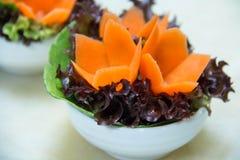 Λαχανικό στο άσπρο φλυτζάνι Στοκ Φωτογραφίες