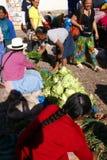 λαχανικό τουριστών σκηνής αγοράς Στοκ εικόνες με δικαίωμα ελεύθερης χρήσης