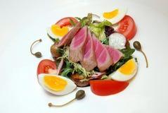 λαχανικό τόνου σαλάτας Στοκ Φωτογραφία