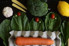 Λαχανικό υποβάθρου Στοκ εικόνα με δικαίωμα ελεύθερης χρήσης