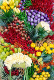 Λαχανικό & φρούτα Στοκ Εικόνες