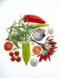 λαχανικό gemuesekreis κύκλων στοκ εικόνες