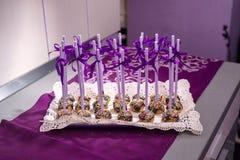 Λαϊκά κέικ, γλυκιά έρημος Στοκ εικόνες με δικαίωμα ελεύθερης χρήσης