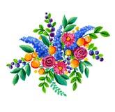 Λαϊκά λουλούδια Στοκ Εικόνες