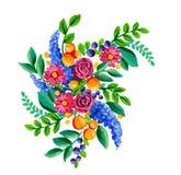 Λαϊκά λουλούδια Στοκ Φωτογραφία