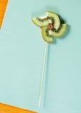 Λαϊκή ζωή τέχνης ακόμα Kwi pinwheel Στοκ εικόνα με δικαίωμα ελεύθερης χρήσης