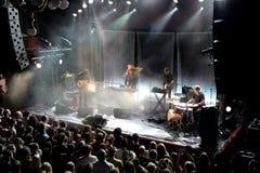 Λαϊκή ζώνη ονείρου σπιτιών παραλιών από τη Βαλτιμόρη στη συναυλία στη σκηνή Apolo Στοκ Εικόνες