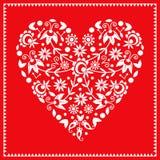Λαϊκή καρδιά Στοκ Εικόνες