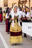 Λαϊκή ομάδα Sinnai Στοκ φωτογραφία με δικαίωμα ελεύθερης χρήσης