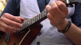 Λαϊκός μουσικός απόθεμα βίντεο
